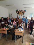 Младшите посланници на ЕП и гостите от Младежки център -Враца - СУ Никола Войводов - Враца