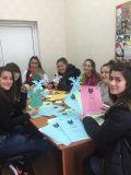 Коледната работилница на ученическия съвет - СУ Никола Войводов - Враца