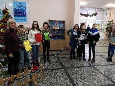 Награждаване призьорите от Коледното математическо състезание - СУ Никола Войводов - Враца