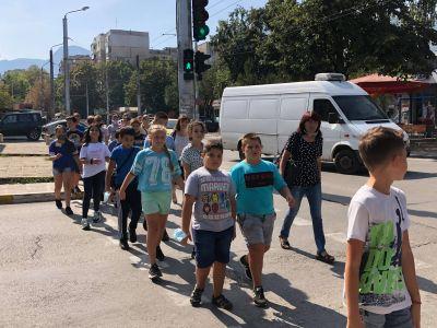 Седмица за превенция на детската пътна безопасност  - СУ Никола Войводов - Враца