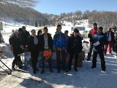 Зимен спортно-туристически празник - СУ Никола Войводов - Враца
