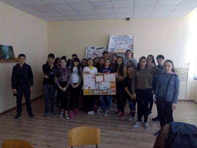 Здравно просветна дейност в 8 клас - СУ Никола Войводов - Враца
